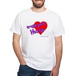 Trailer Park Hussie White T-Shirt