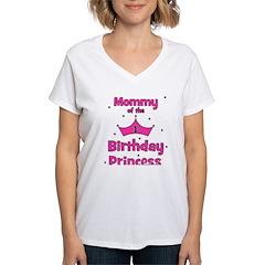 Mommy of the 1st Birthday Pri Shirt