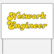 Retro Network Eng.. (Gold) Yard Sign