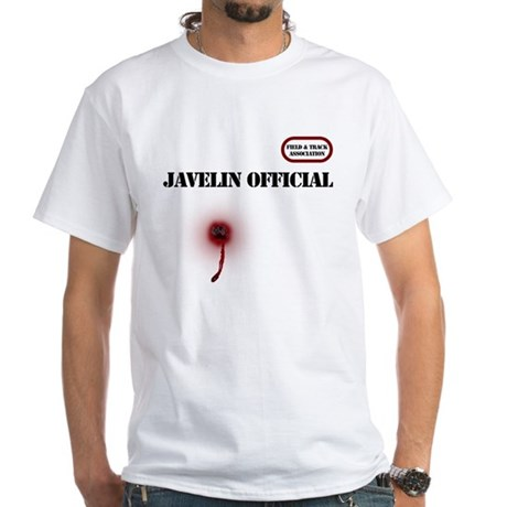 Clumsy javelin official