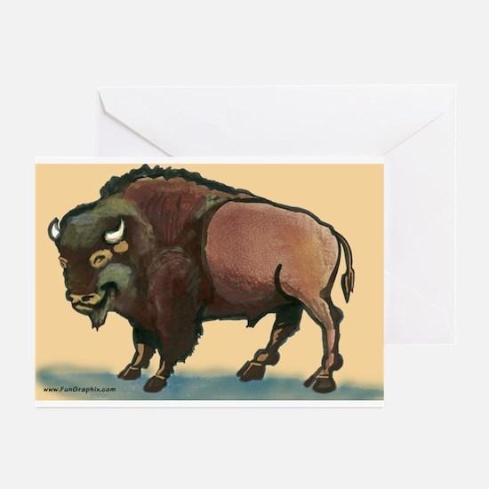 Cute Buffalo new york Greeting Cards (Pk of 10)