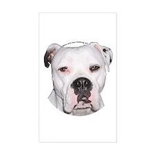 American Bulldog Rectangle Decal