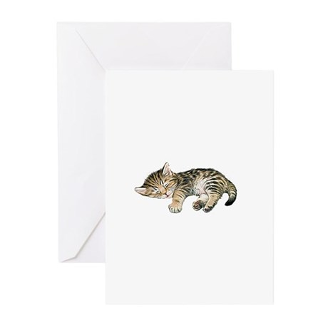 Cat Nap Greeting Cards (Pk of 20)