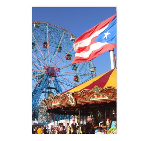 Wonder Wheel Puerto Rico Postcards (Package of 8)
