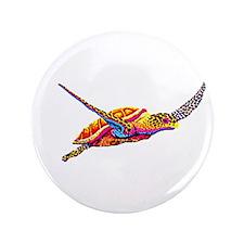 "Sea Turtle 3.5"" Button (100 pack)"