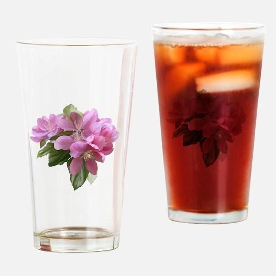 Cute Flower Drinking Glass