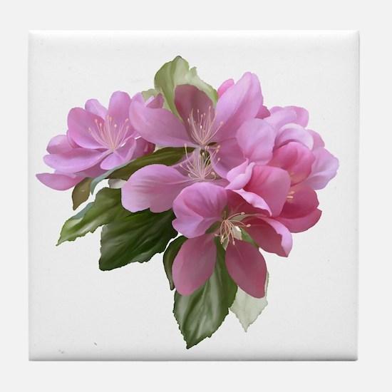 Unique Flower Tile Coaster
