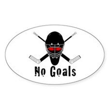 NoGoals Oval Decal