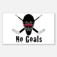NoGoals Rectangle Decal