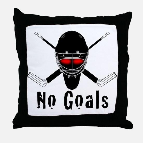 NoGoals Throw Pillow