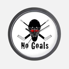 NoGoals Wall Clock