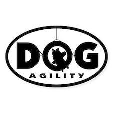 Tire Jump Dog Agility Oval Decal