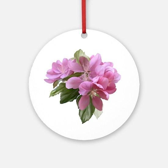 Cute Flower Round Ornament