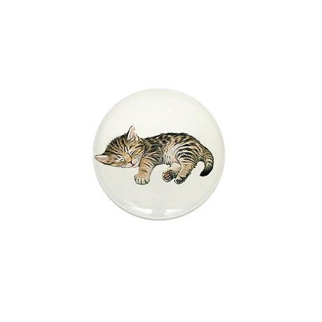 Cat Nap Mini Button
