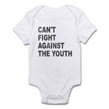 Can't Fight Against the Youth Infant Bodysuit