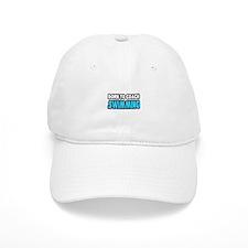 """Born To Coach Swimming"" Baseball Cap"