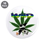 """Wiid Panda 3.5"""" Button (10 pack)"""