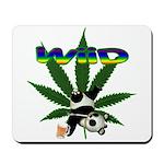 Wiid Panda Mousepad