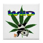 Wiid Panda Tile Coaster