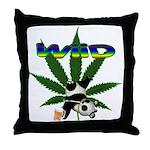 Wiid Panda Throw Pillow