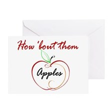 How About Them Apples Greeting Card