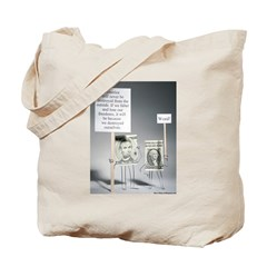Abe and George Tote Bag