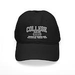 XXL College Black Cap