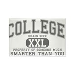 XXL College Rectangle Magnet (100 pack)