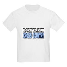 """Born to Run Cross Country"" T-Shirt"