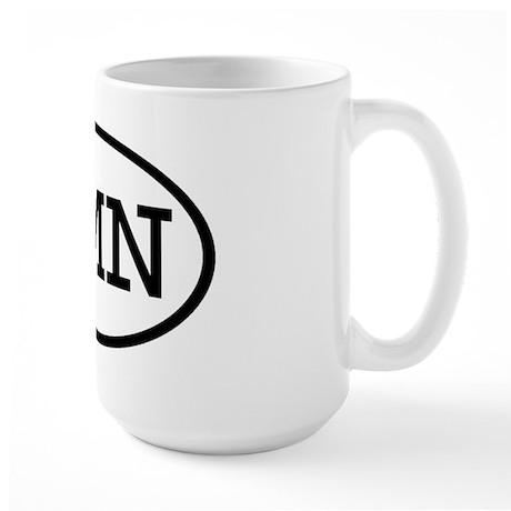 SMN Oval Large Mug
