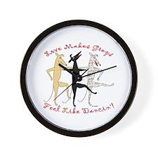 DANCIN' WALL CLOCK
