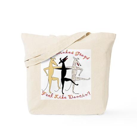 DANCIN' TOTE BAG