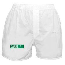 Canal Street in NY Boxer Shorts