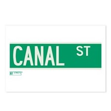 Canal Street in NY Postcards (Package of 8)