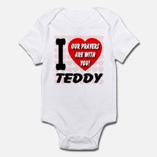 I Love Teddy Kennedy Infant Bodysuit