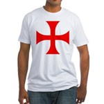 Cross Pattee Fitted T-Shirt