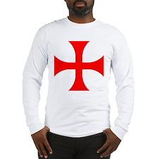 Cross Pattee Long Sleeve T-Shirt
