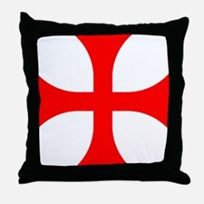 Cross Pattee Throw Pillow