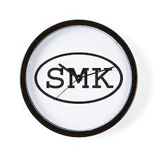 SMK Oval Wall Clock
