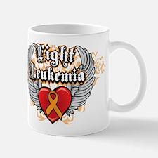 Fight Leukemia Orange Mug