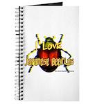 I love Japanese Beetles Journal