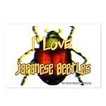 I love Japanese Beetles Postcards (Package of 8)