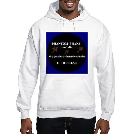 Phans + Phantom (Red) ~ Hooded Sweatshirt