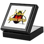 I love Japanese Beetles Keepsake Box