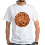 Wax Templar Seal White T-Shirt