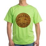 Wax Templar Seal Green T-Shirt
