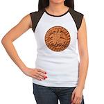 Wax Templar Seal Women's Cap Sleeve T-Shirt