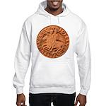 Wax Templar Seal Hooded Sweatshirt