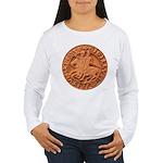 Wax Templar Seal Women's Long Sleeve T-Shirt
