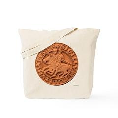 Wax Templar Seal Tote Bag